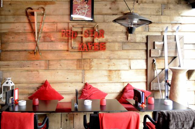 Red Star Kafee - Het Eilandje