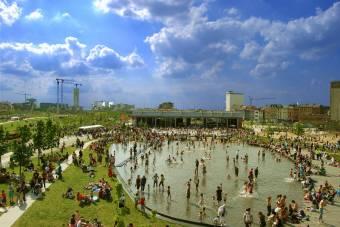 Wijk - Park Spoor Noord Antwerpen