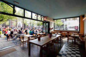 A Restaurant in the Zurenborg quarter in Antwerp