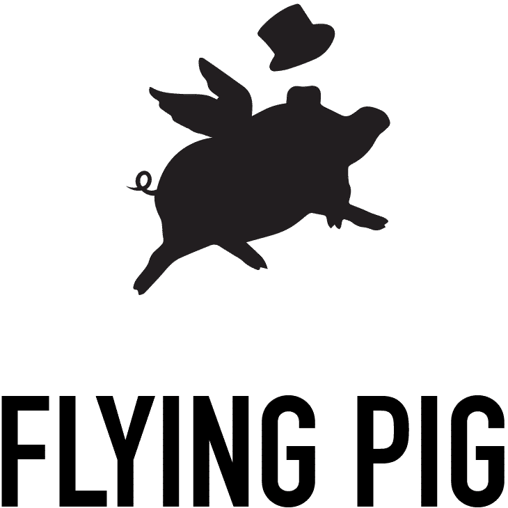 flying pig evenement logo